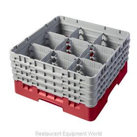 Cambro 9S800163 Dishwasher Rack, Glass Compartment
