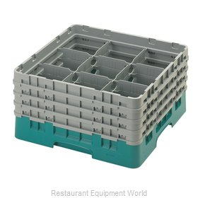 Cambro 9S800414 Dishwasher Rack, Glass Compartment