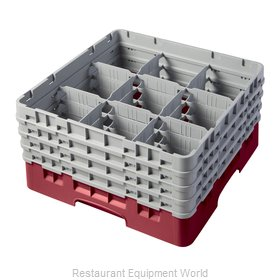 Cambro 9S800416 Full Size Glass Rack