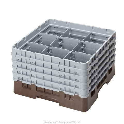 Cambro 9S958167 Dishwasher Rack, Glass Compartment