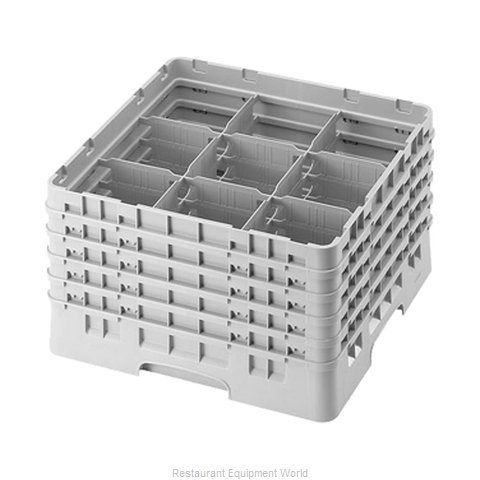 Cambro 9S958184 Dishwasher Rack, Glass Compartment
