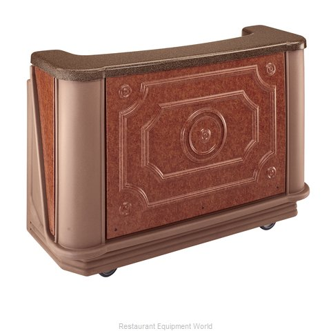 Cambro BAR650DSCP668 Portable Bar
