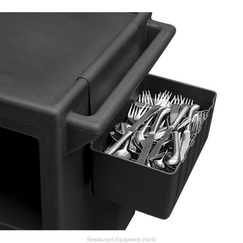 Cambro BC1115SH131 Silver Flatware Bin for Bus Cart (Magnified)