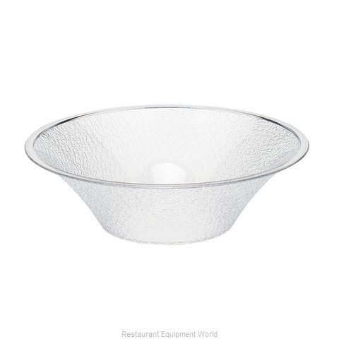 Cambro BSB12176 Bell-Shaped Pebbled Bowl