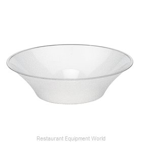 Cambro BSB18176 Bell-Shaped Pebbled Bowl