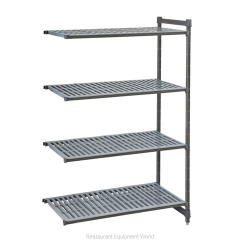 Cambro CBA213672V4580 Shelving Unit, All Plastic
