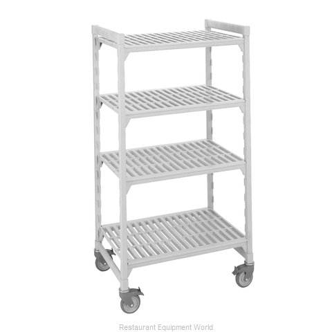 Cambro CPHU244867V4480 Shelving Unit, Plastic with Poly Exterior Steel Posts