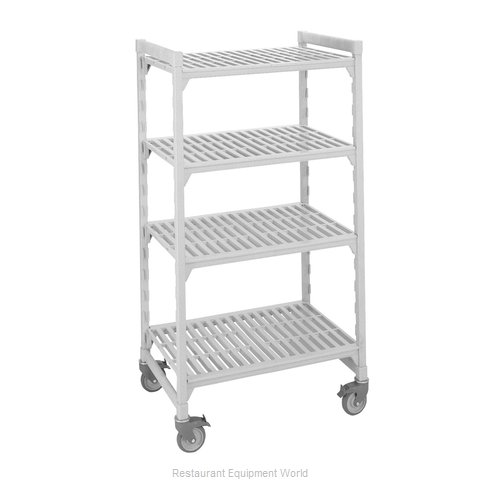 Cambro CPMU184267V4480 Shelving Unit, Plastic with Poly Exterior Steel Posts