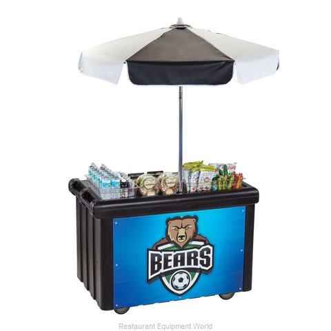 Cambro CVC55110 Vending Merchandising Kiosk