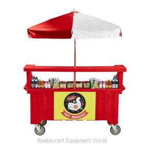 Cambro CVC72158 Vending Merchandising Kiosk