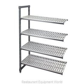 Cambro EA183664V4580 Shelving Unit, All Plastic