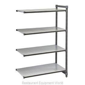 Cambro EA243672S4580 Shelving Unit, All Plastic