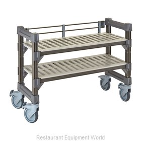 Cambro EMU143627V2580 Shelving Unit, All Plastic