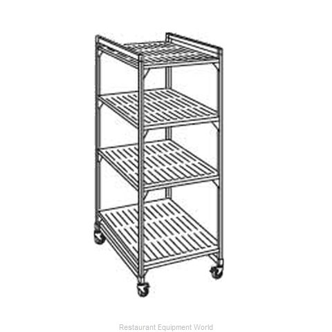 Cambro EMU244870P580 Shelving Unit Plastic (Magnified)