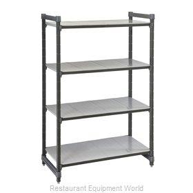 Cambro ESU186084S4580 Shelving Unit, All Plastic
