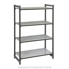 Cambro ESU186084VS4580 Shelving Unit, All Plastic