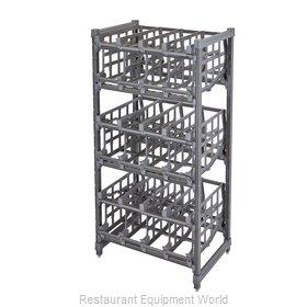 Cambro ESU243672C96580 Can Storage Rack