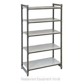 Cambro ESU247284S5580 Shelving Unit, All Plastic