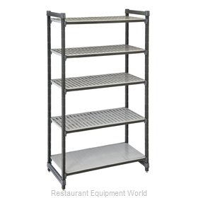 Cambro ESU247284VS5580 Shelving Unit, All Plastic