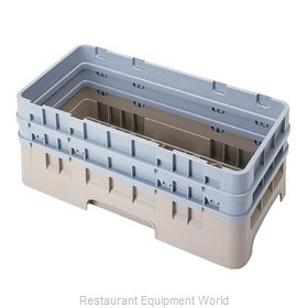 Cambro HBR578186 Dishwasher Rack, Open