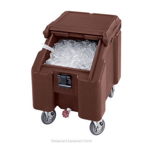 Cambro ICS100L4S131 Ice Bin Chest Mobile