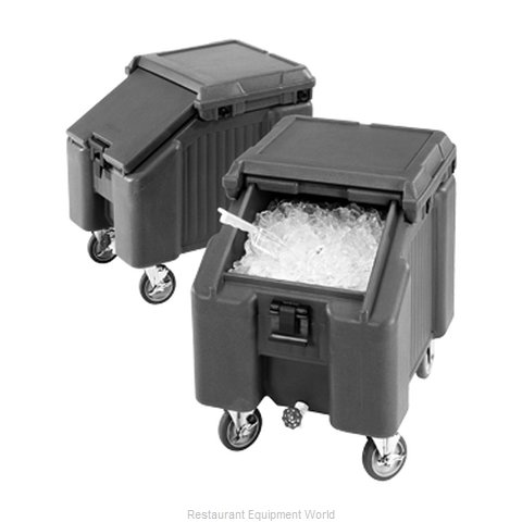 Cambro ICS100L4S180 Ice Bin Chest Mobile (Magnified)
