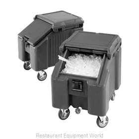Cambro ICS100L4S180 Ice Bin Chest Mobile