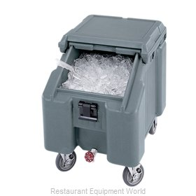 Cambro ICS100L4S191 Ice Bin Chest Mobile