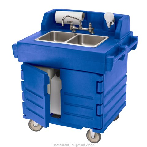 Cambro KSC402186 Hand Sink Cart (Magnified)