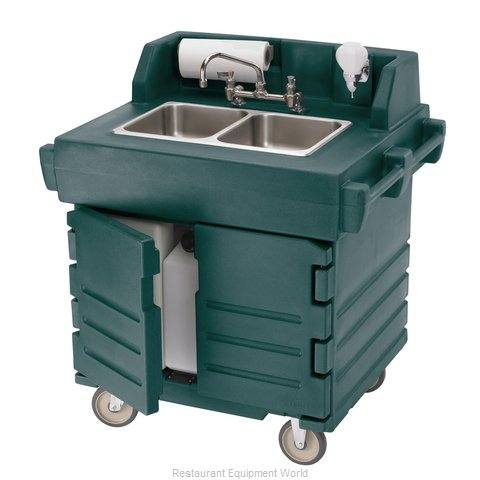 Cambro KSC402192 Hand Sink Cart (Magnified)