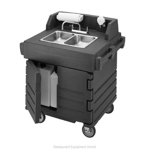Cambro KSC402426 Hand Sink Cart (Magnified)