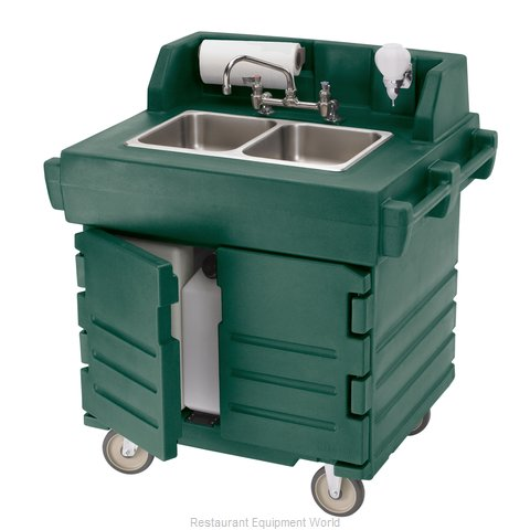 Cambro KSC402519 Hand Sink Cart (Magnified)