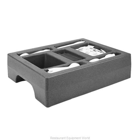 Cambro LCDCH Condiment Caddy Countertop Organizer Towers And - Restaurant table organizers