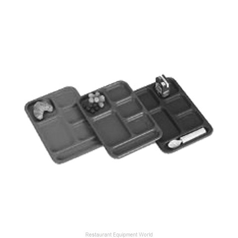 Cambro PS1014437 School Compartment Tray (Magnified)