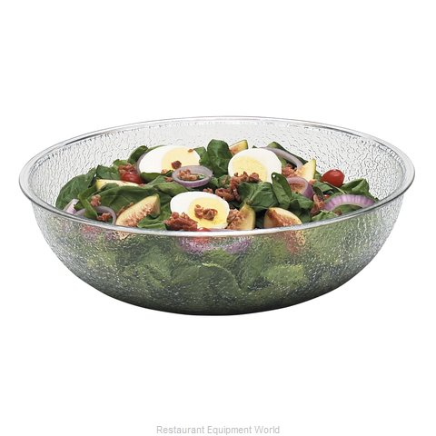 Cambro PSB12176 Round Pebbled Bowl