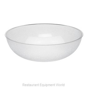 Cambro PSB18176 Round Pebbled Bowl