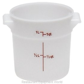 Cambro RFS1148 Food Storage Container, Round