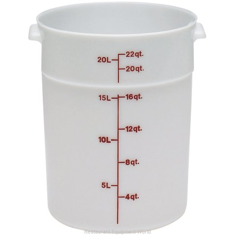 Cambro RFS22148 Poly round Storage Container