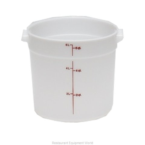 Cambro RFS6148 Food Storage Container, Round