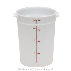Cambro RFS8148 Poly round Storage Container