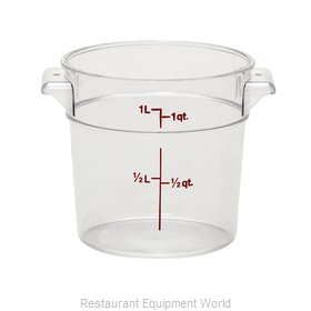 Cambro RFSCW1135 Food Storage Container, Round