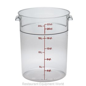 Cambro RFSCW22135 Food Storage Container, Round