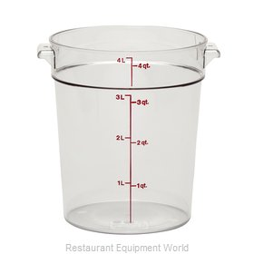 Cambro RFSCW4135 Food Storage Container, Round