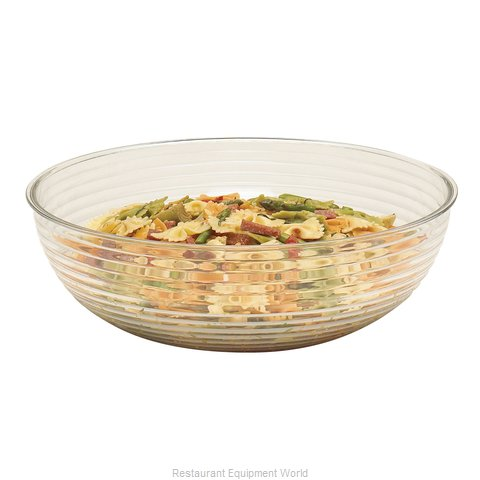 Cambro RSB12CW135 Round Ribbed Bowl