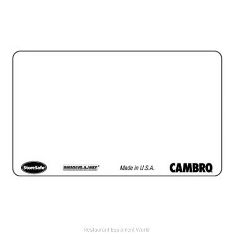 Cambro SLL30 Stickers Labels