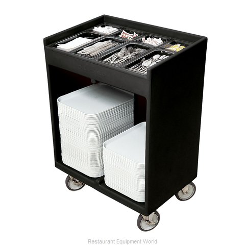 Cambro TC1418110 Flatware & Tray Cart