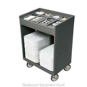 Cambro TC1418191 Tray and Silver Cart