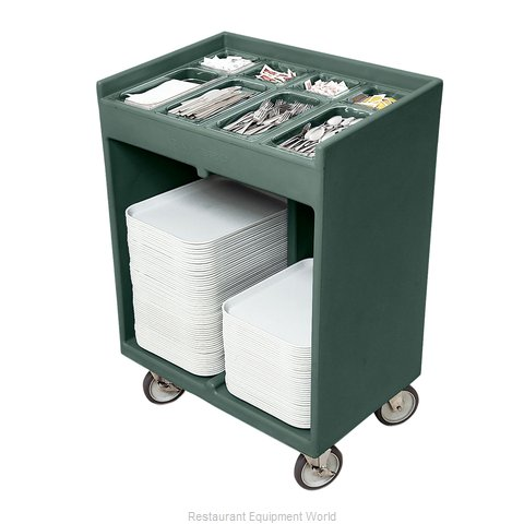 Cambro TC1418192 Flatware & Tray Cart