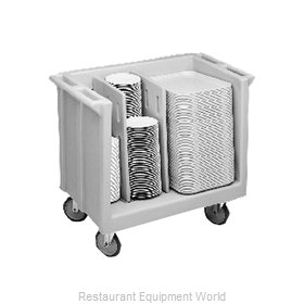 Cambro TDC30180 Adjustable Tray And Dish Cart