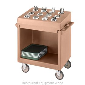 Cambro TDCR12157 Flatware & Tray Cart